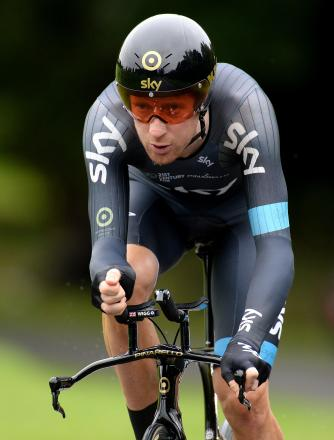 STAR TURN: Sir Bradley Wiggins