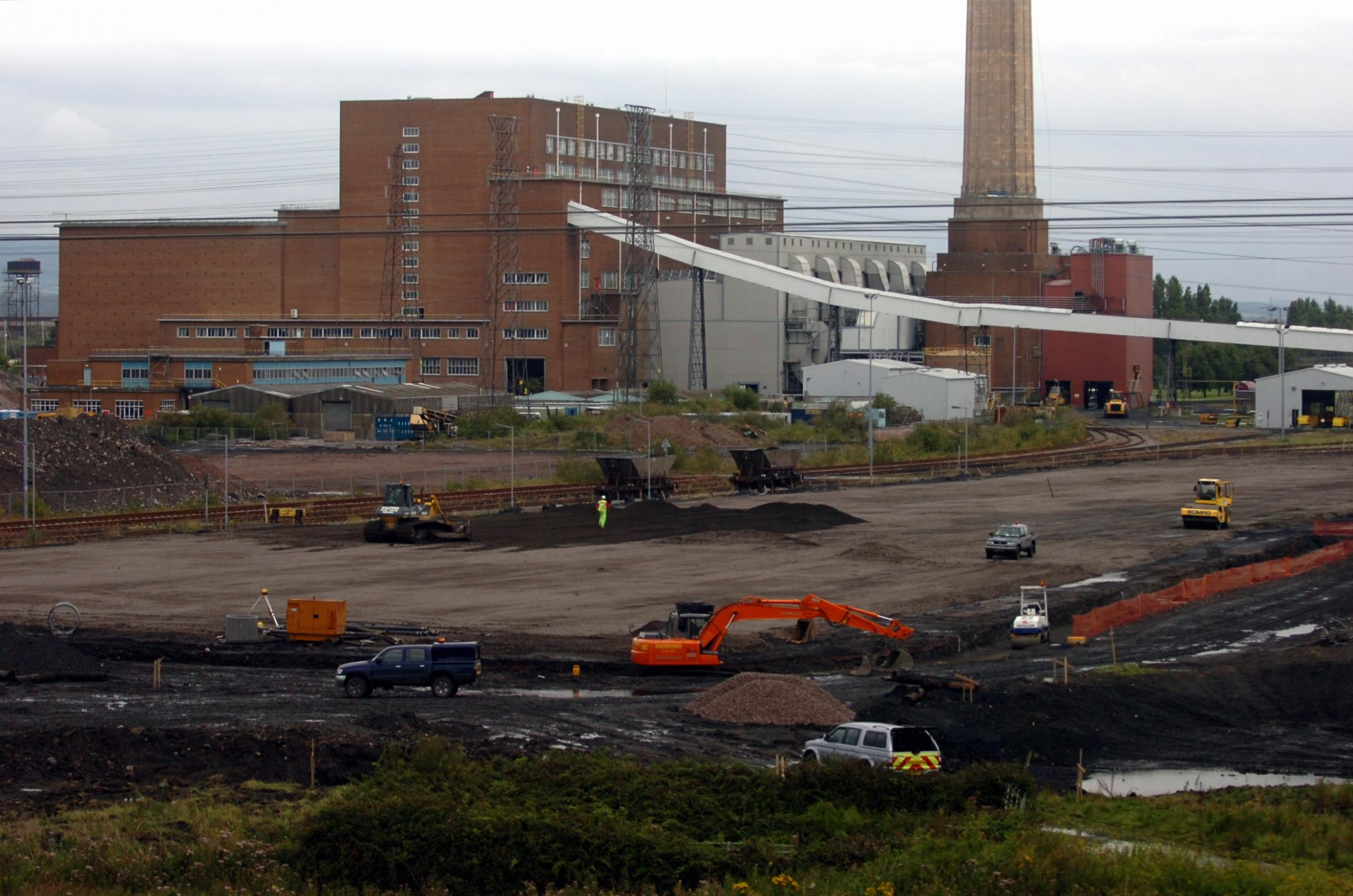Uskmouth power station stops as sale talks go on