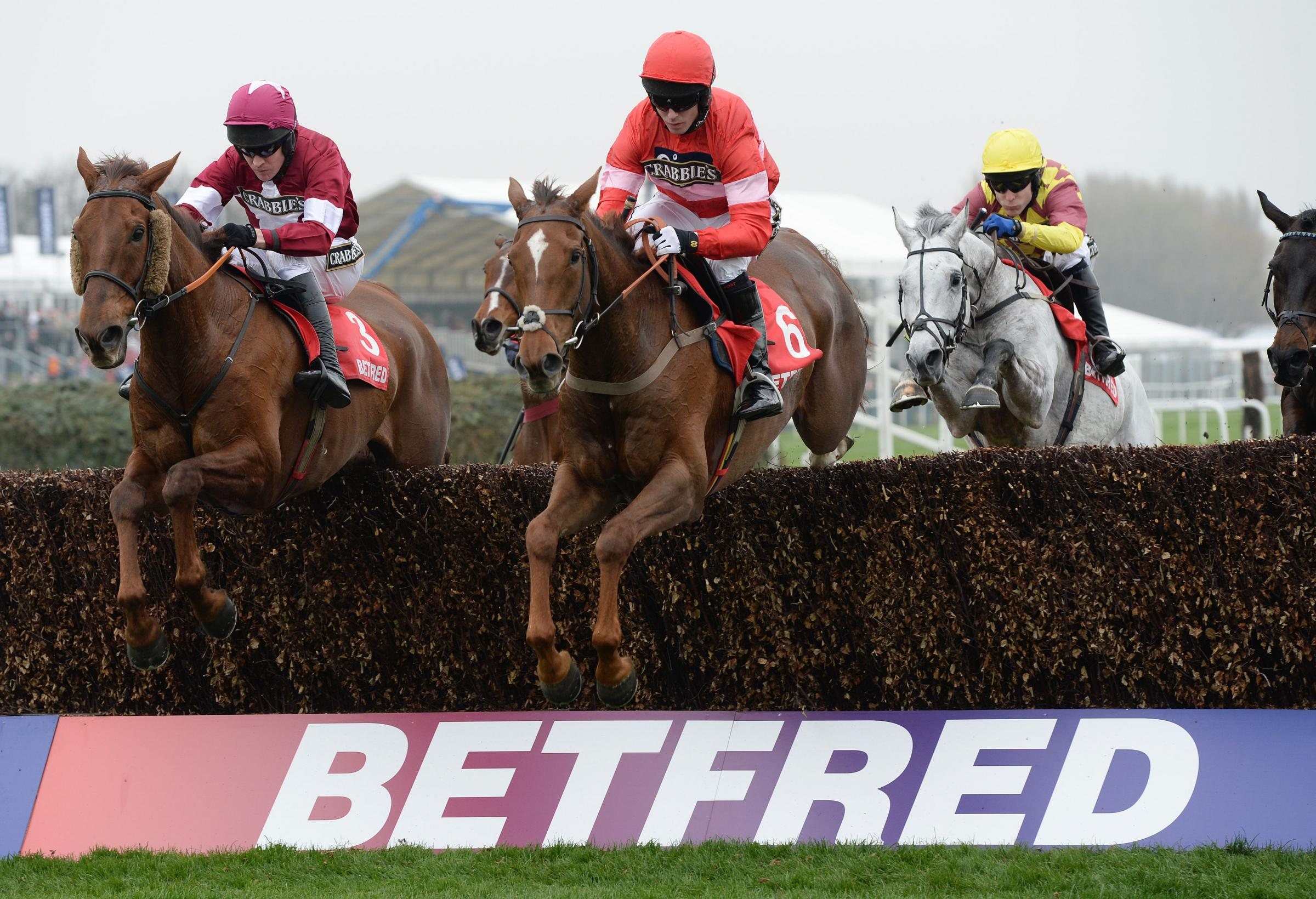 Silviniaco Conti (right) lit up Aintree this week with victory in the Betfred Bowl