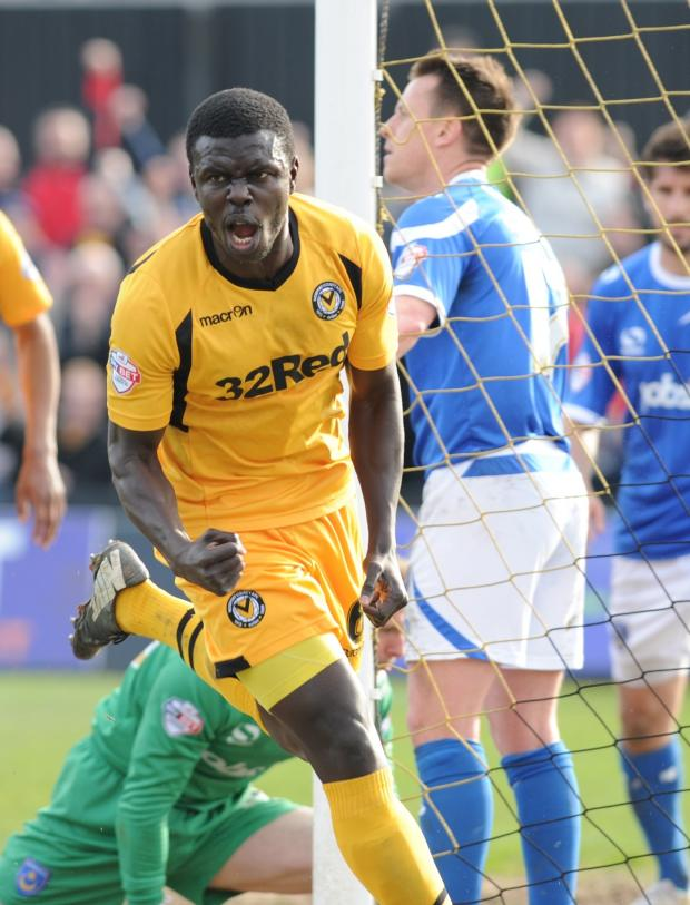 South Wales Argus: FIGHTING SPIRIT: I thought we'd get a point after Ismail Yakubu's goal against Portsmouth