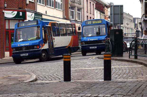 Brynmawr bus depot closure puts 77 jobs at risk