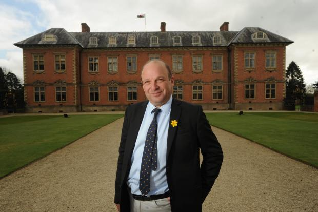 Justin Albert, National Trust's Director for Wales at Tredegar House (5280386)