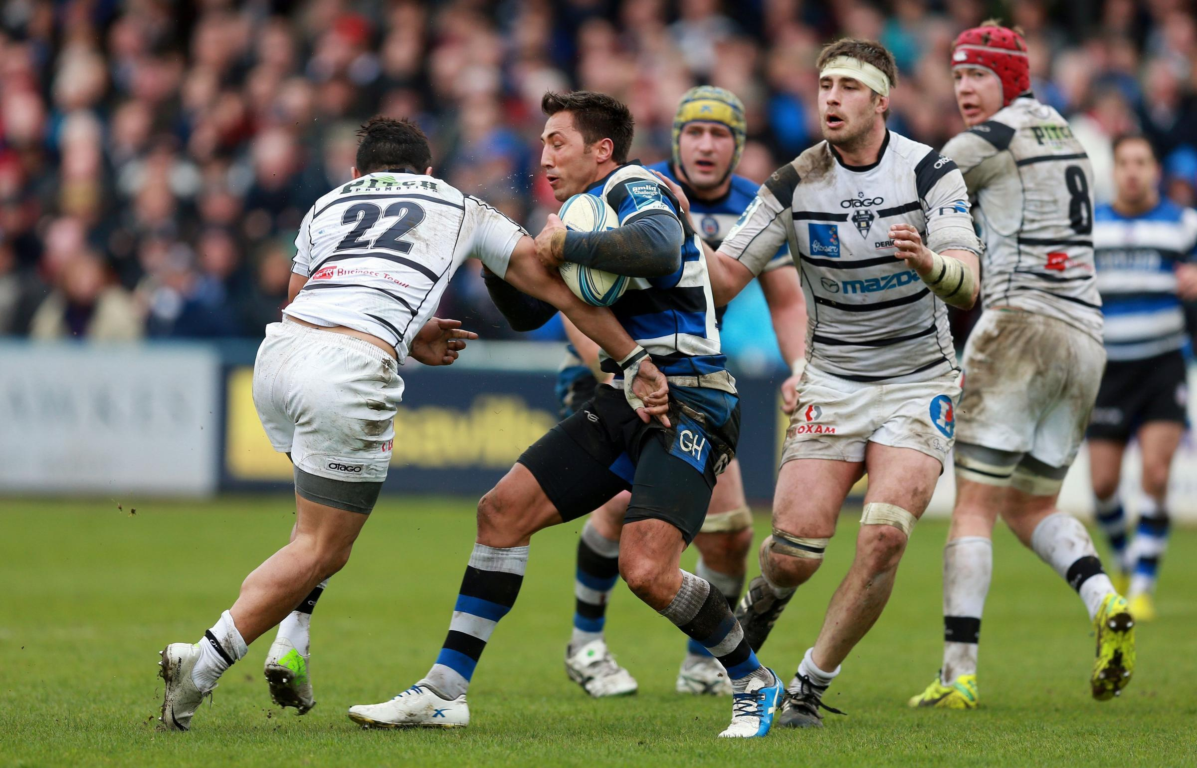 STAYING PUT: Former Wales star Gavin Henson will remain at Bath
