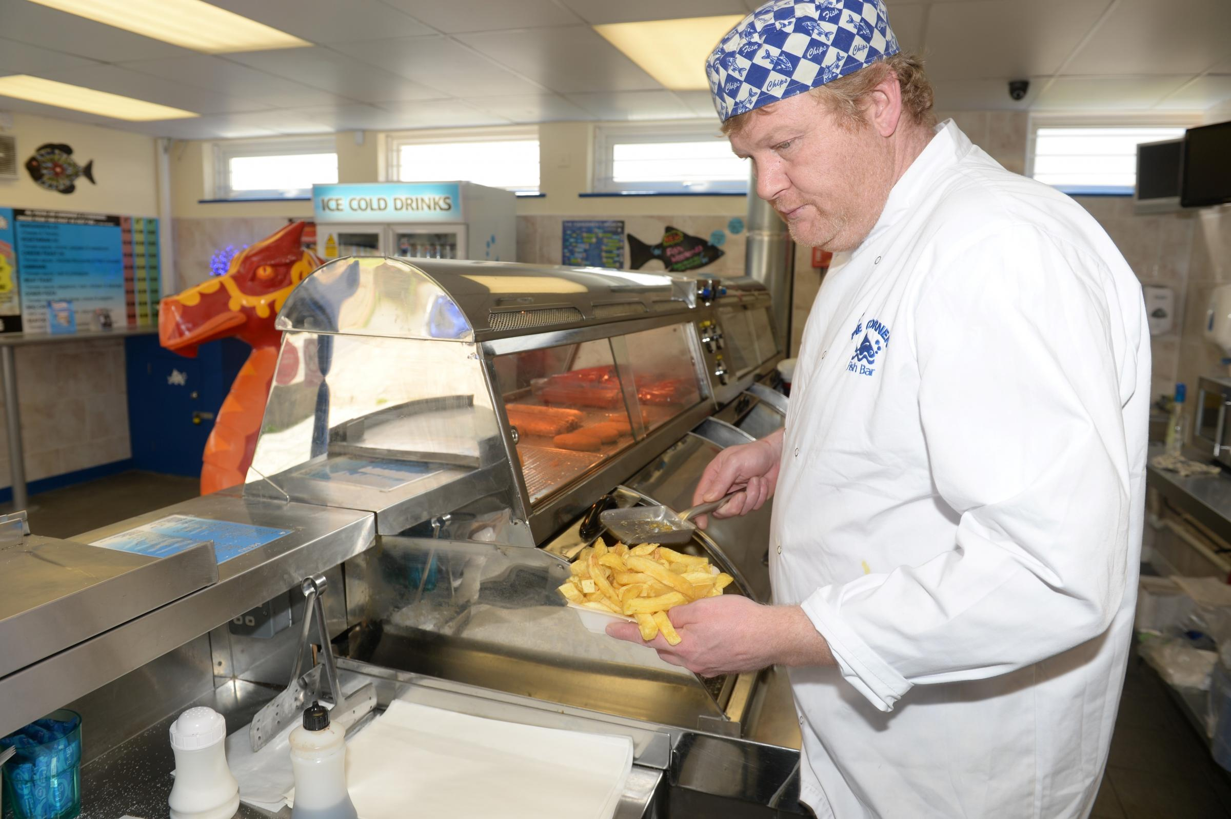 Newport chippy could be Britain's best