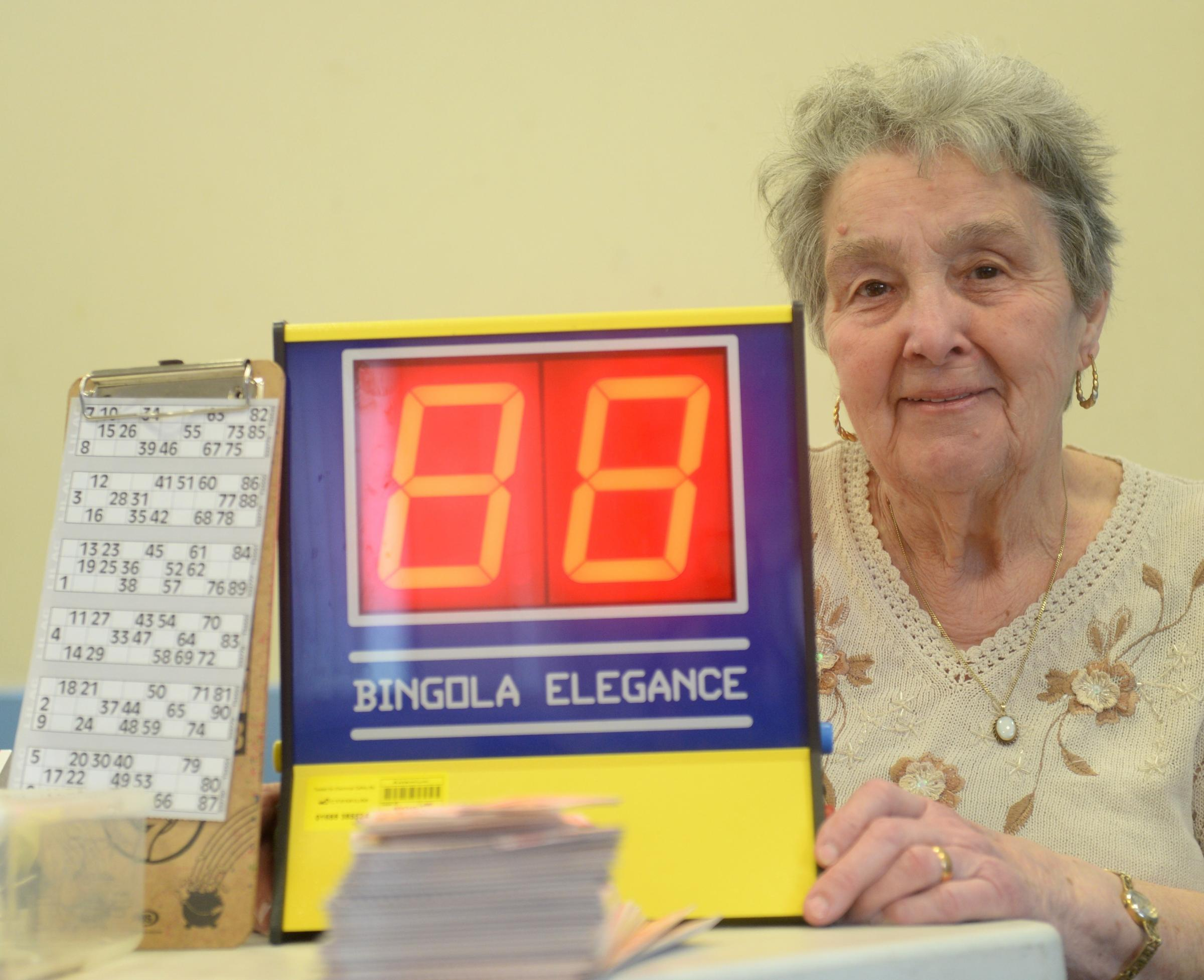 Pensioner Joan Davies has won an award for volunteering. She's raising cash through her charity bingo nights and is now saving cash as part of the Argus Jack's Appeal. Pictured is Joan Davies at Maesglas Community Centre. (5286982)