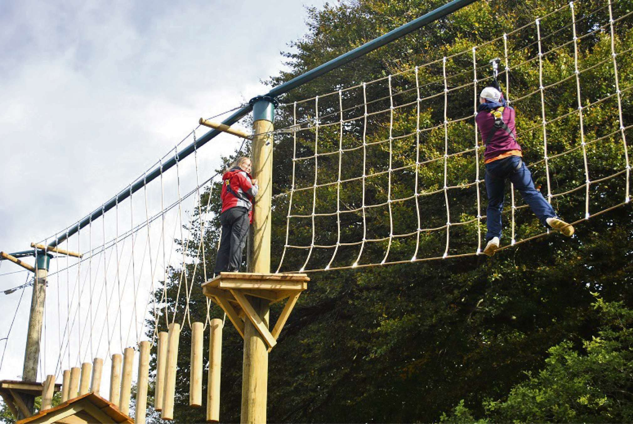 OUT IN THE OPEN: Mountain View Ranch in Caerphilly offers outdoor activities for all the family.