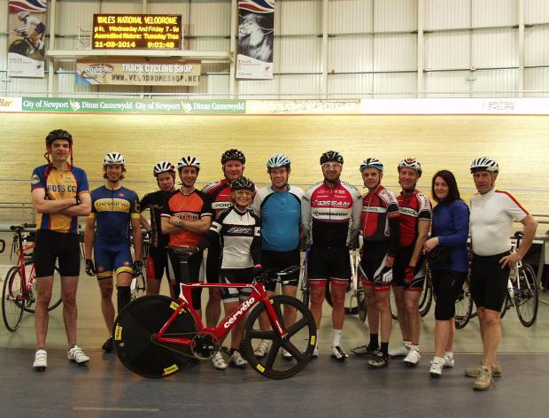 The Newport cyclists who raised funds for Sport Relief