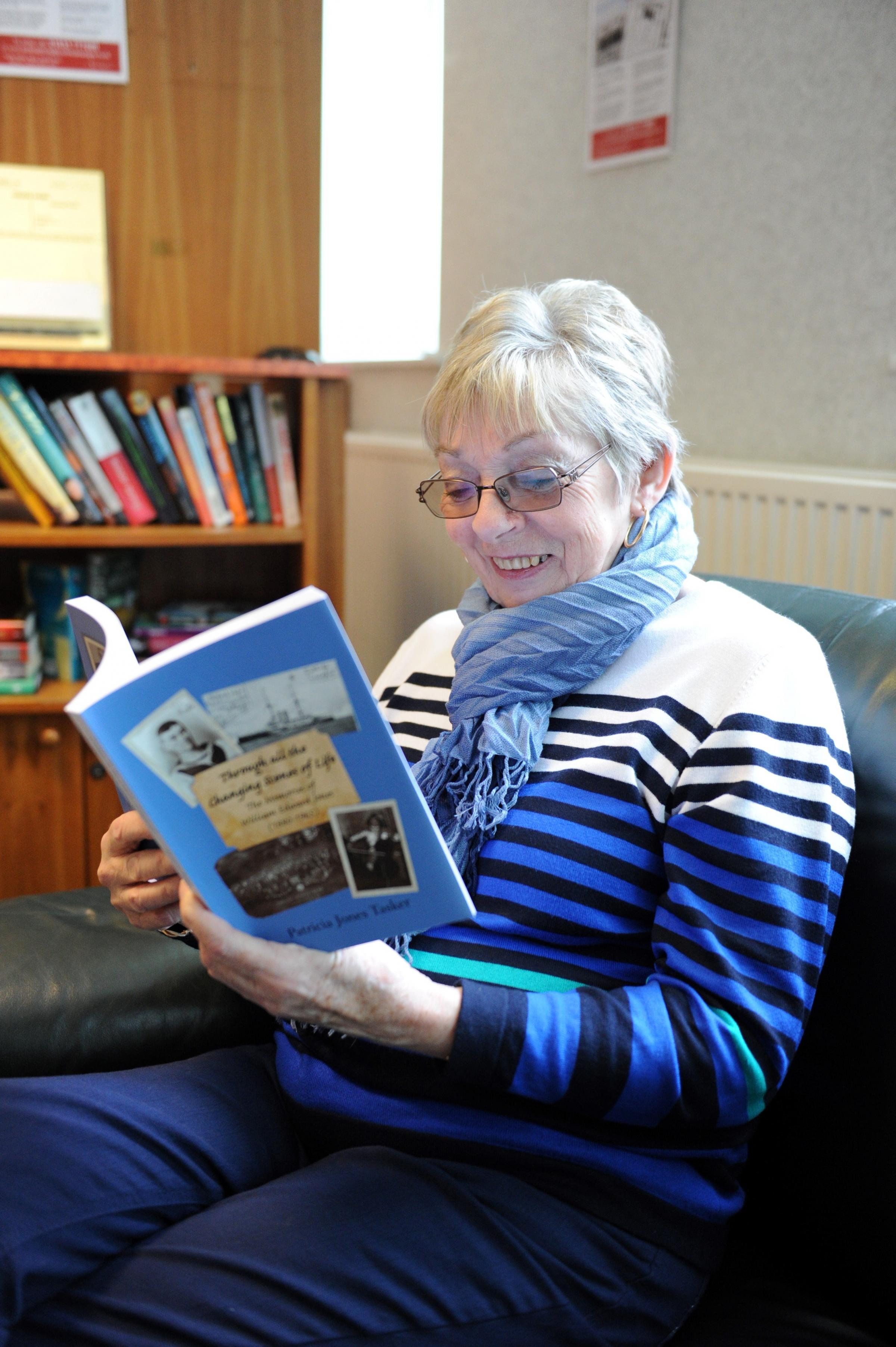 Newport woman publishes her grandfather's First World War navy memoirs