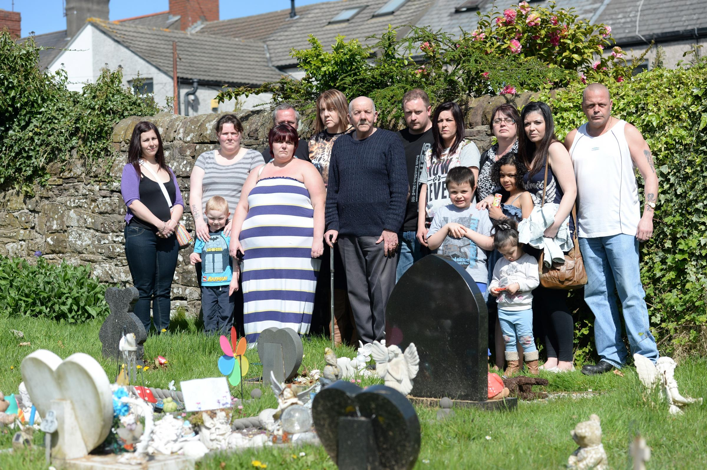 Families hit out at Torfaen graveyard 'personalisation' rules
