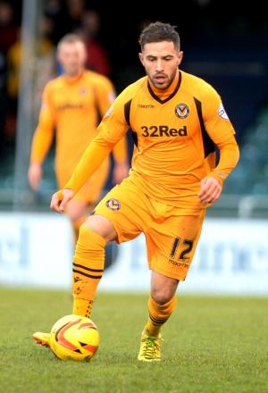 EX-HATTER: Newport County's Robbie Willmott is looking forward to facing his old club Luton next season