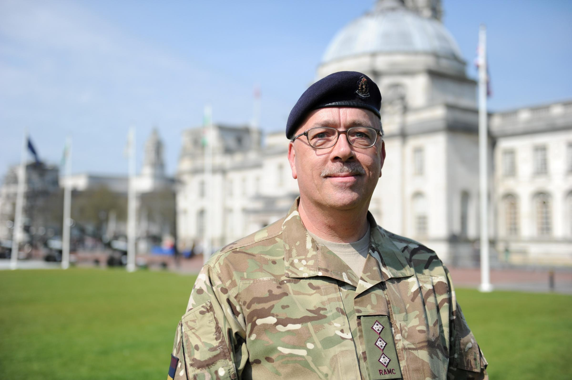 Gwent  Army medics honoured in freedom parade