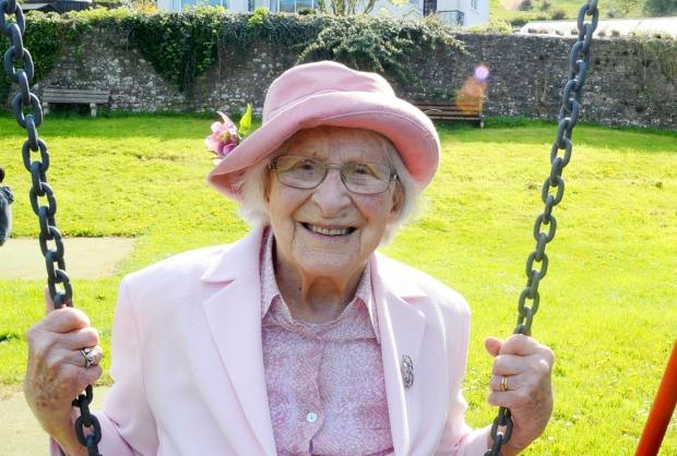 South Wales Argus: IN FULL SWING: Hilda