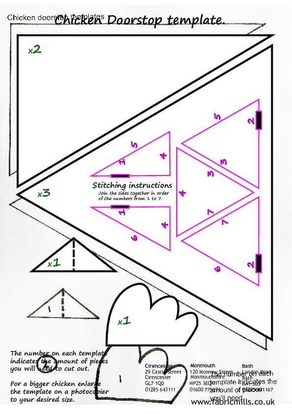 It's just a graphic of Chicken Template Printable in traceable