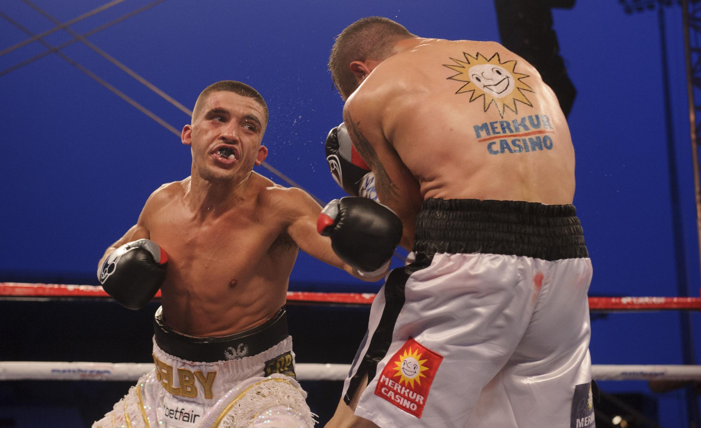 STATESIDE STAR: Lee Selby's