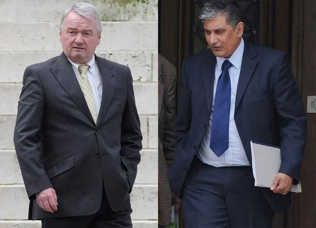 South Wales Argus: ON TRIAL: Gary Inchliffe and Farooq Dastgir