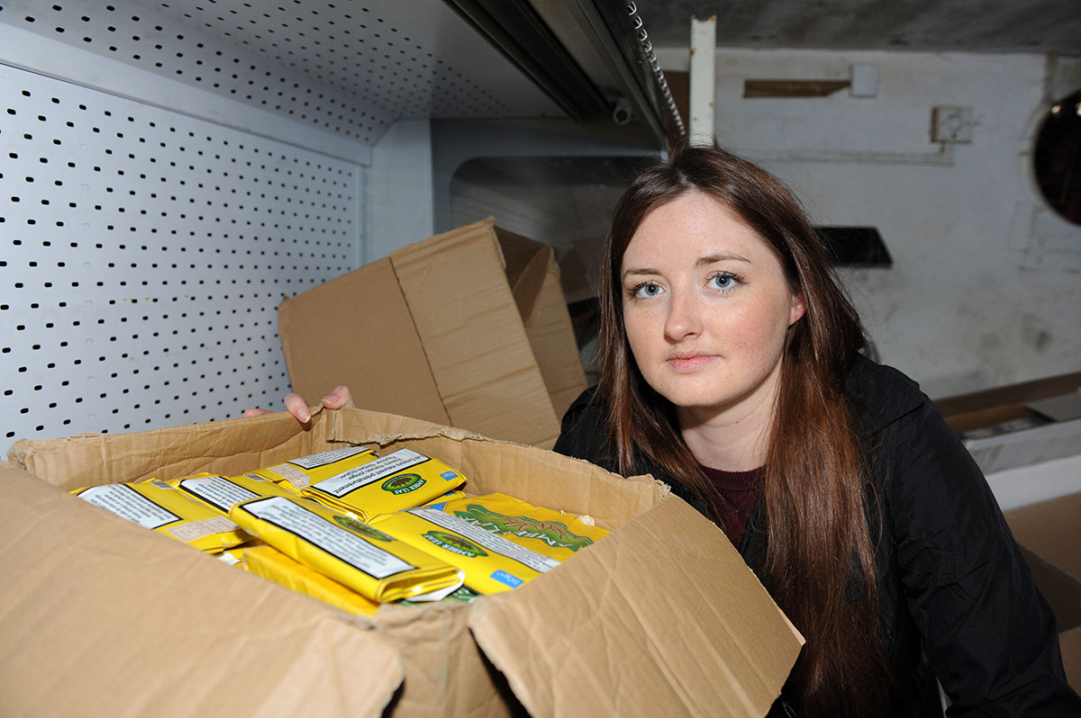 Haul of illegal tobacco is biggest ever found in Newport