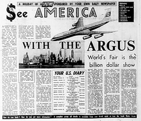 ARGUS ARCHIVE: 50 years ago - Argus offers 2 weeks in US for £199