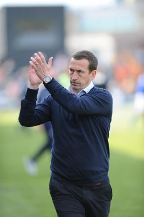 APPEAL: Justin Edinburgh has asked fans to be realistic in their expectations for the new season
