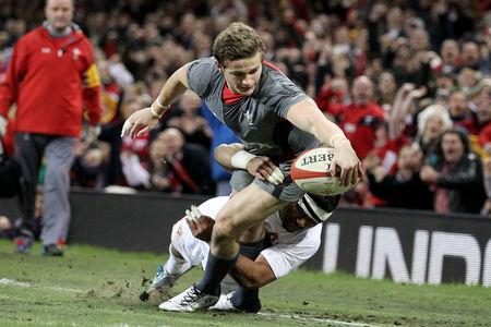 INTERNATIONAL AIM: Hallam Amos wants to head to South Africa to add to the cap he won against Tonga