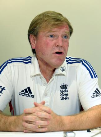 England's Hugh Morris speaks during the press conference at the Sofitel Hotel, Brisbane, Australia. PRESS ASSOCIATION Photo. Picture date: Monday November 25, 2013. See PA story CRICKET England. Photo credit should read: Anthony Devlin/PA Wire. RESTRI