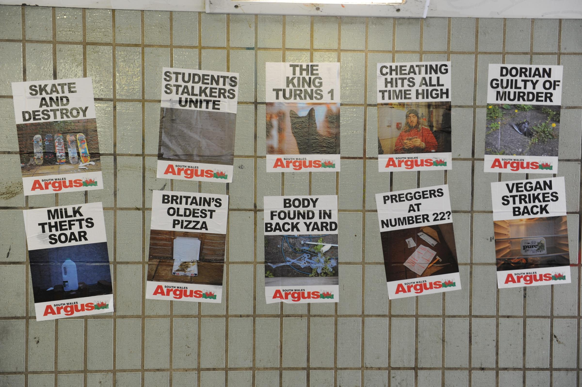 Mystery in Newport over false Argus posters