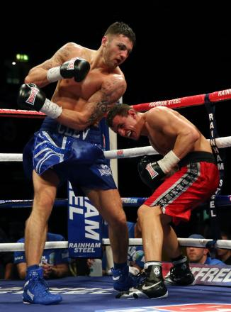 COMEBACK: Cefn Fforest star Nathan Cleverly