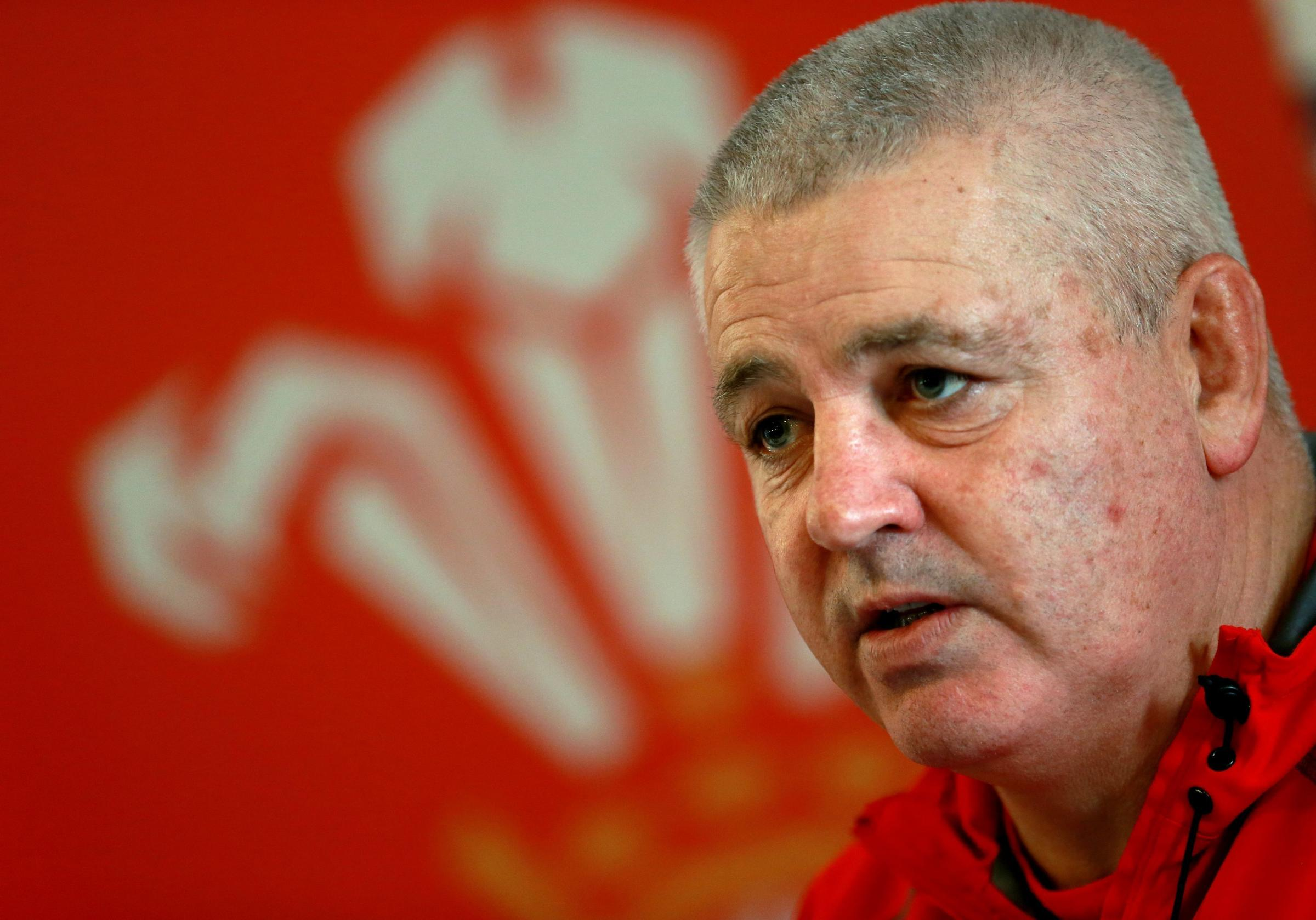 File photo dated 05/03/2014 of Wales head coach Warren Gatland. PRESS ASSOCIATION Photo. Issue date: Thursday . Wales coach Warren Gatland has made six changes from the team beaten by England for Saturday's RBS 6 Nations finale against Scotland in Car