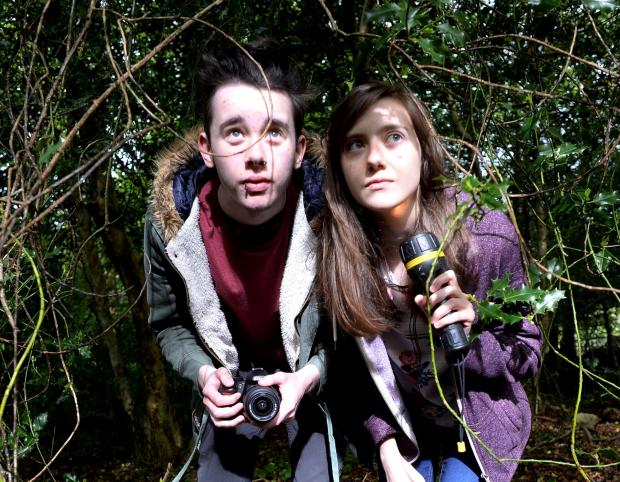 SPOOKED: Pontypool ghosthunters Jack Strange and Laura Dixon