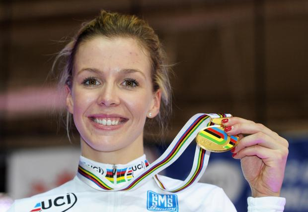 South Wales Argus: MEDAL HOPE: Abergavenny's Becky James will be going for gold at the Commonwealth Games