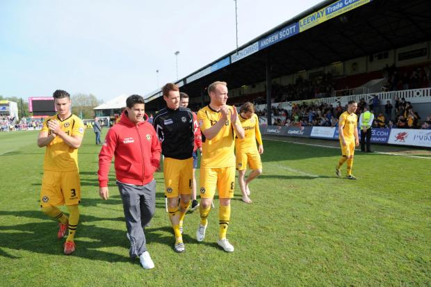 County players thank the fans (5916158)