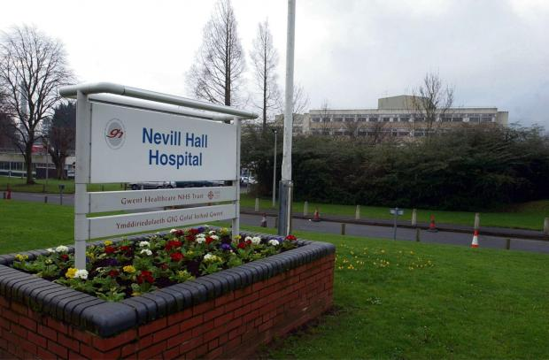 GERNERAL VIEW OF NEVILL HALL HOSPITAL IN ABERG