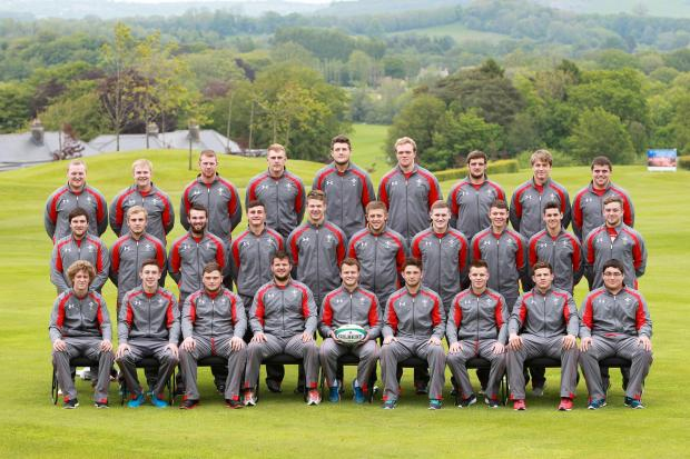 20.05.14 - Wales U20 Squad Photo -    © Huw Evans Picture Agency (6535253)