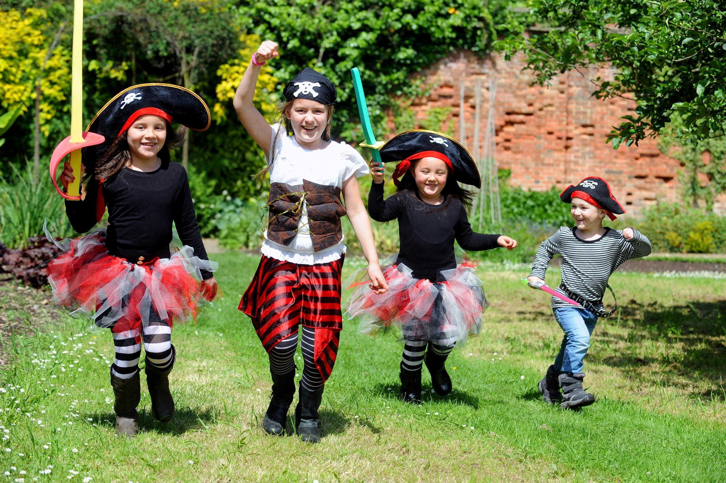 Ahoy! Pirates takeover Tredegar House