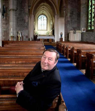 NEW ROLE: Father Mark Soady becomes the new area dean of Abergavenny