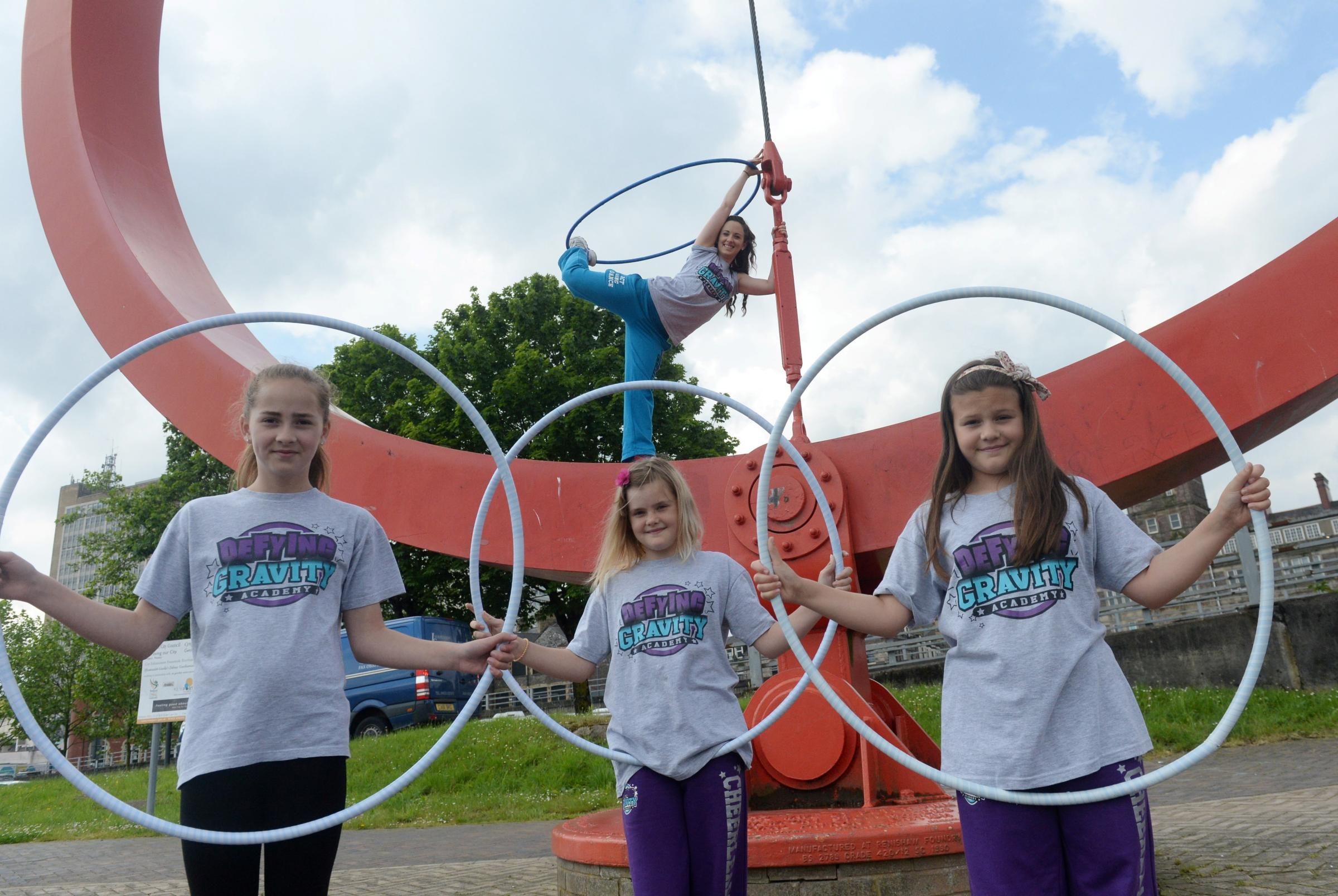Hula-hoopers set to take over Newport city centre