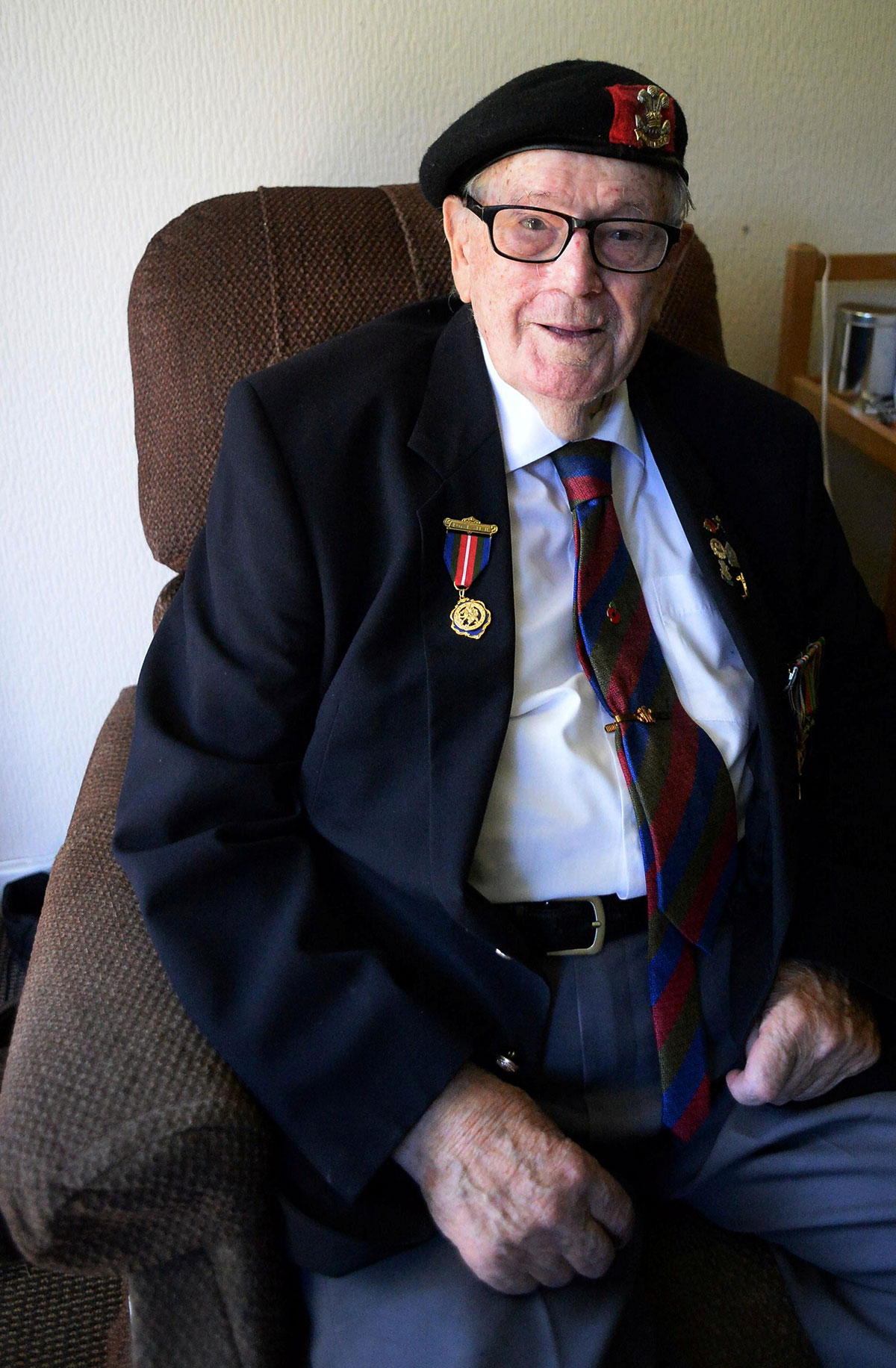 Newport veteran to be honoured as he returns to D-Day beach