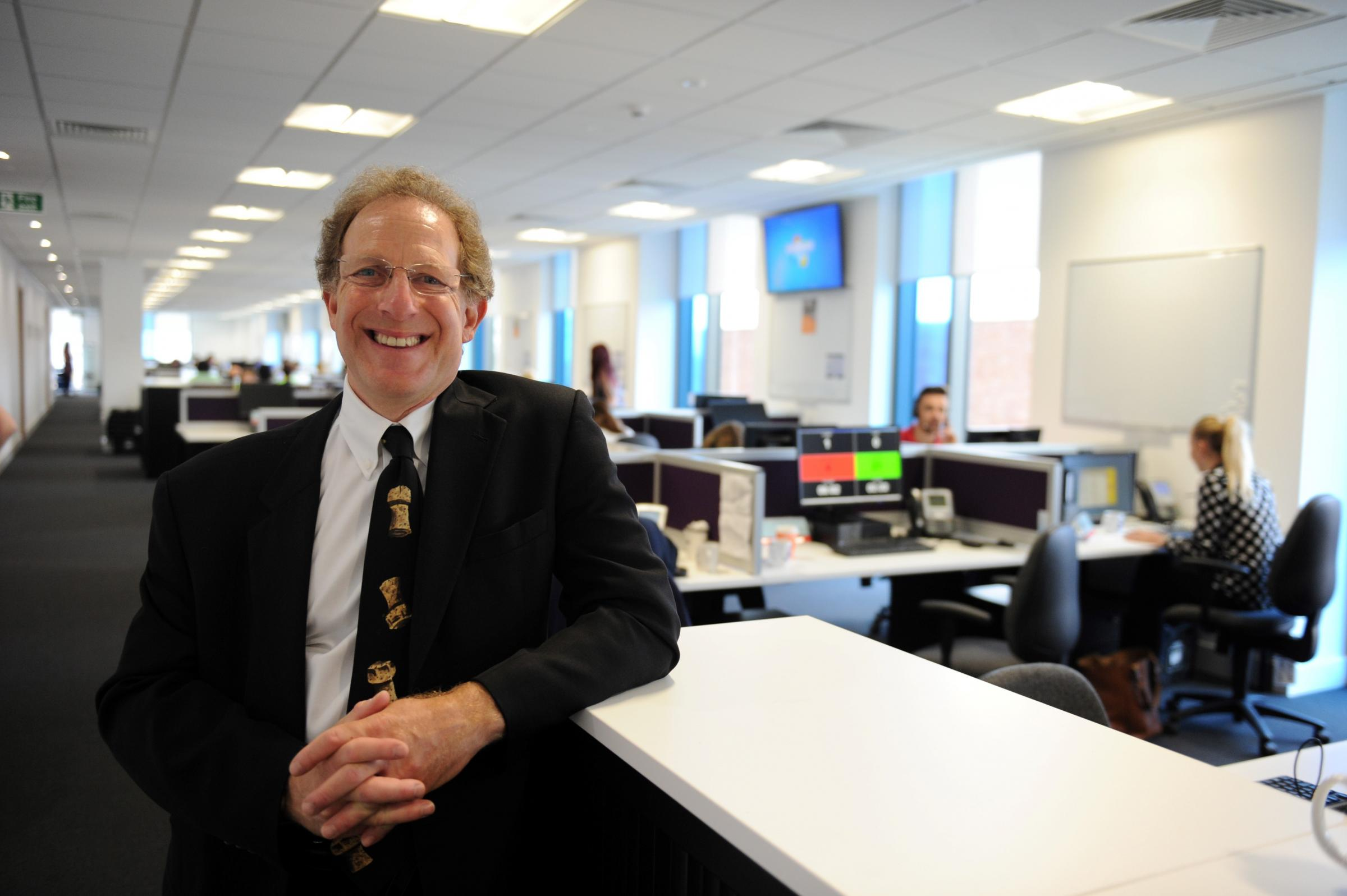 Newport welcomes Admiral as staff move into new offices
