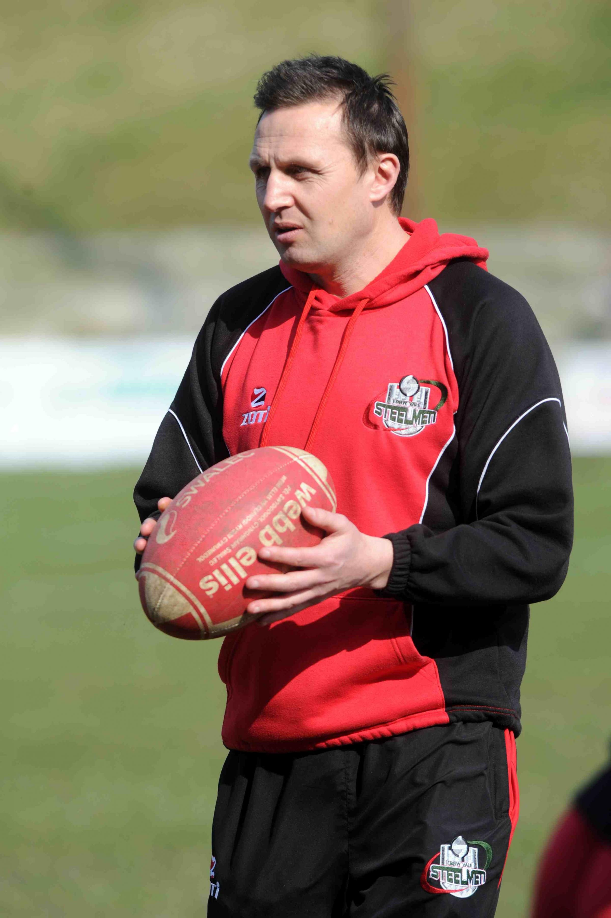 TOP COACH: Ebbw Vale boss Jason Strange