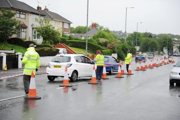 Which Gwent roads will be hit by the census