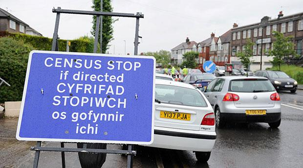 Traffic survey causes delays on Forge Road, Newport