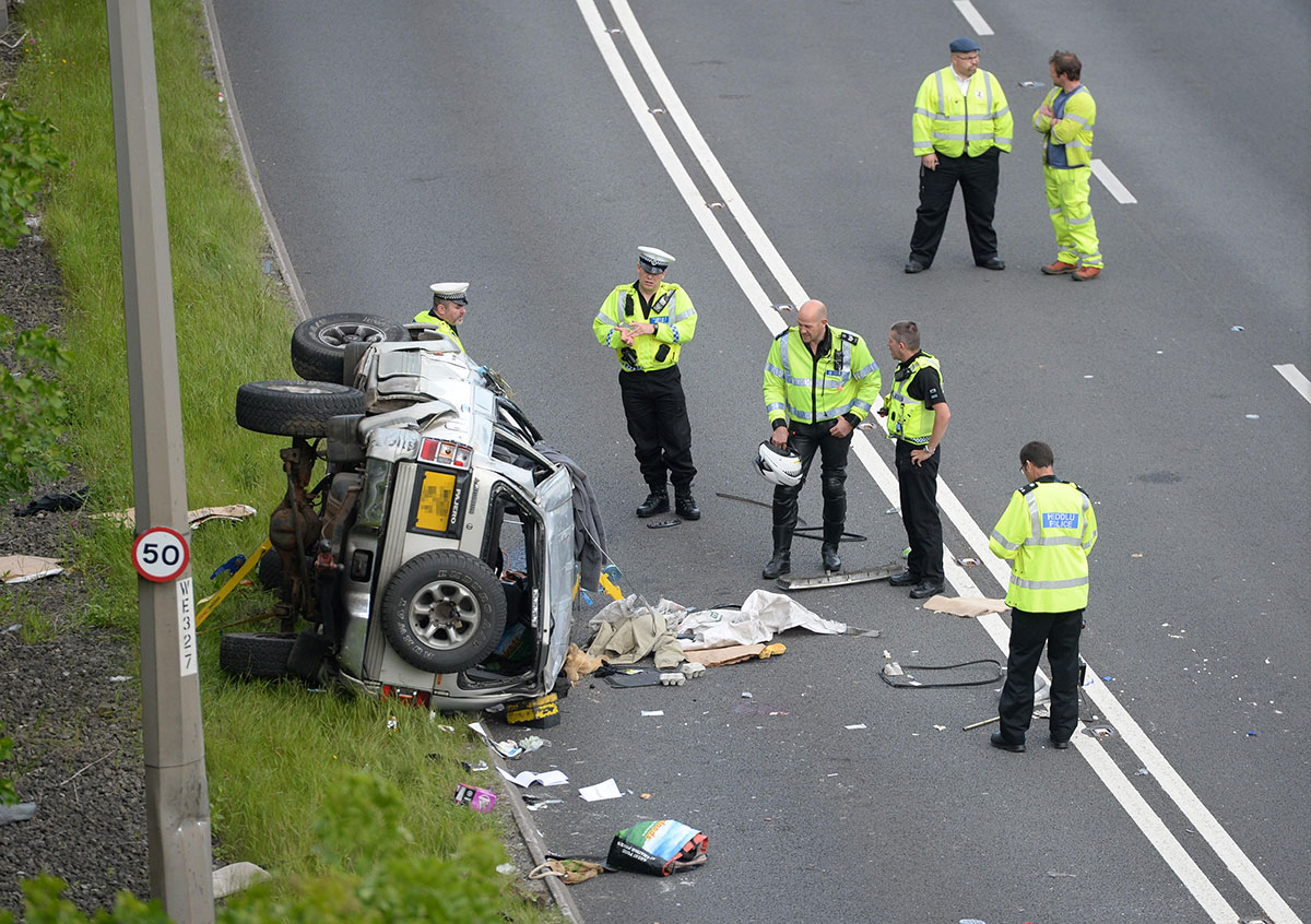 UPDATE: Air ambulance scrambled to airlift A465 crash victim