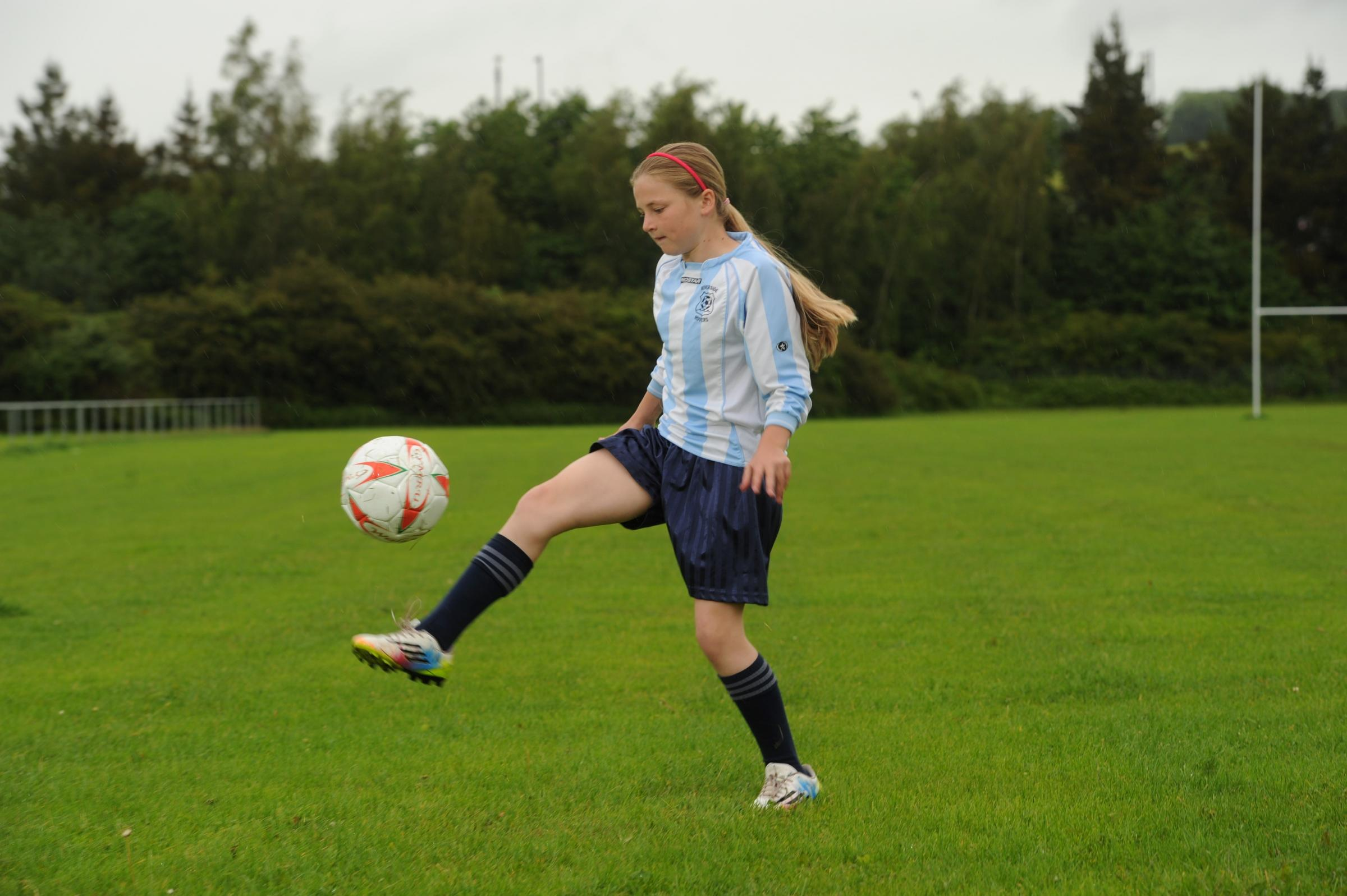 Footballing Newport girl can keep playing in mixed side