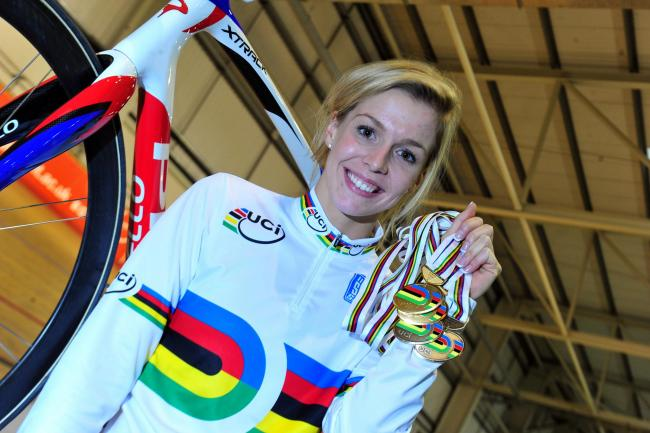 OLYMPIC BID: Abergavenny's Becky James will be training for the Rio Olympics in Newport