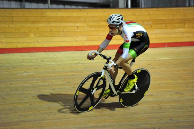 SELECTED: Newport's Jon Mould will represent Team USN at the Track Cycling World Cup series in Los Angeles