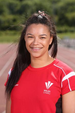 GAMES HOPE: Newport sprint star Mica Moore will represent Wales in Glasgow