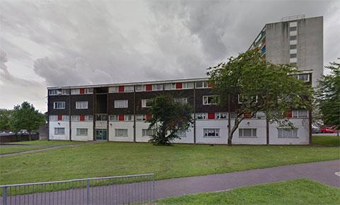 SET FOR DEMOLITION: The maisonettes on Ringland Circle