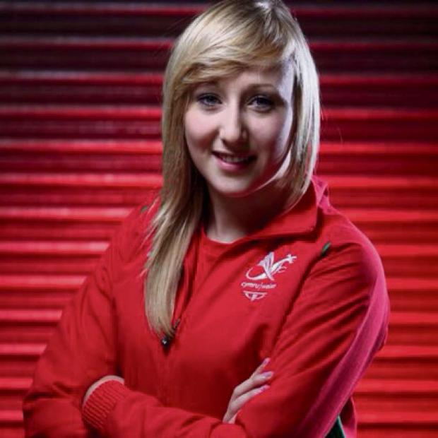 South Wales Argus: MEDAL HOPE: Ebbw Vale's Charlotte Carey