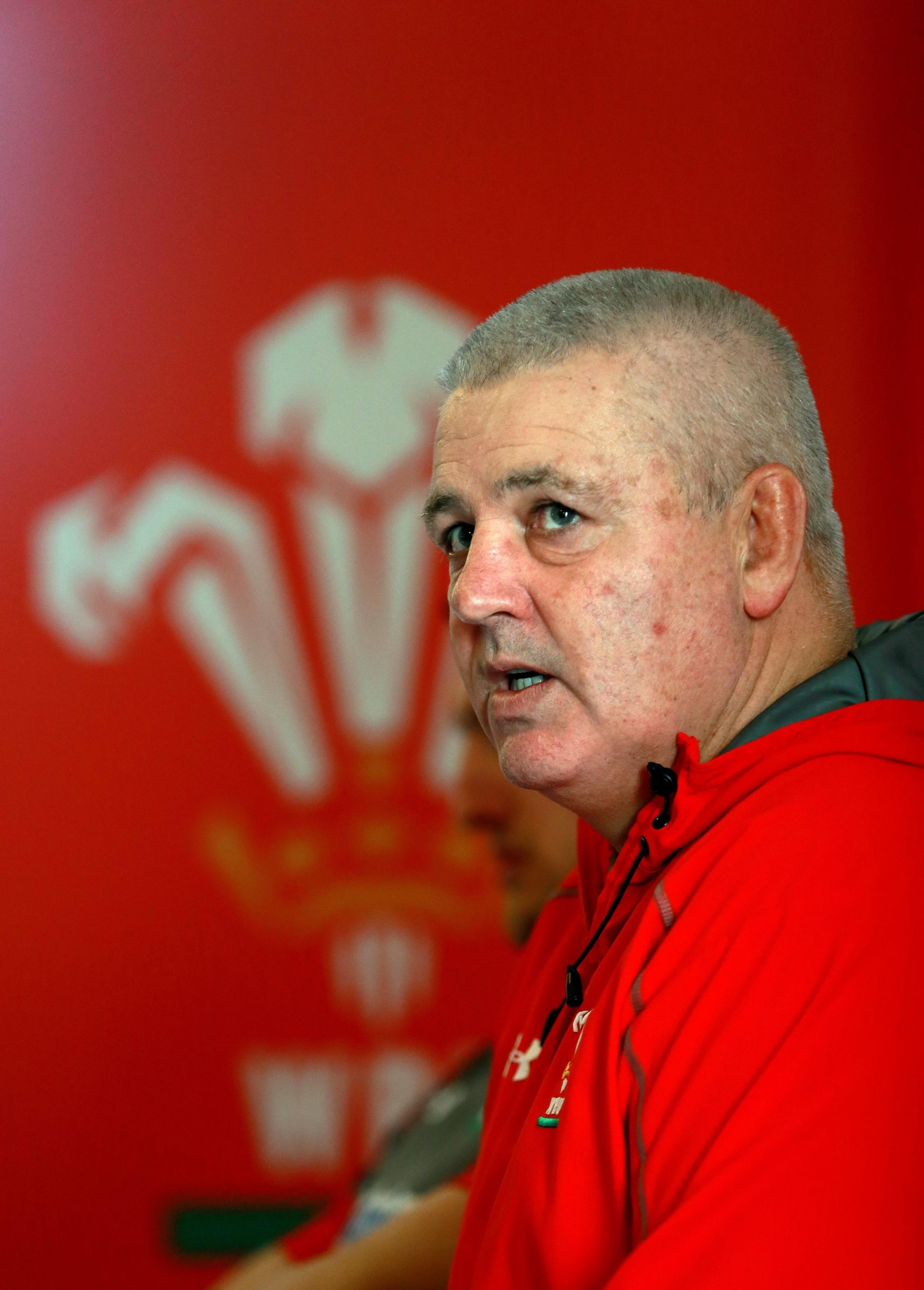 THE BOSS: Wales head coach Warren Gatland