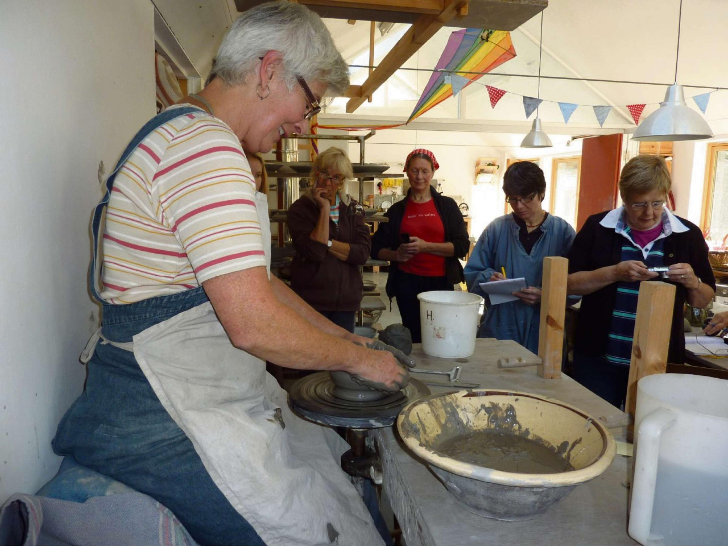 IT'S THE WEEKEND: The popular world of pottery