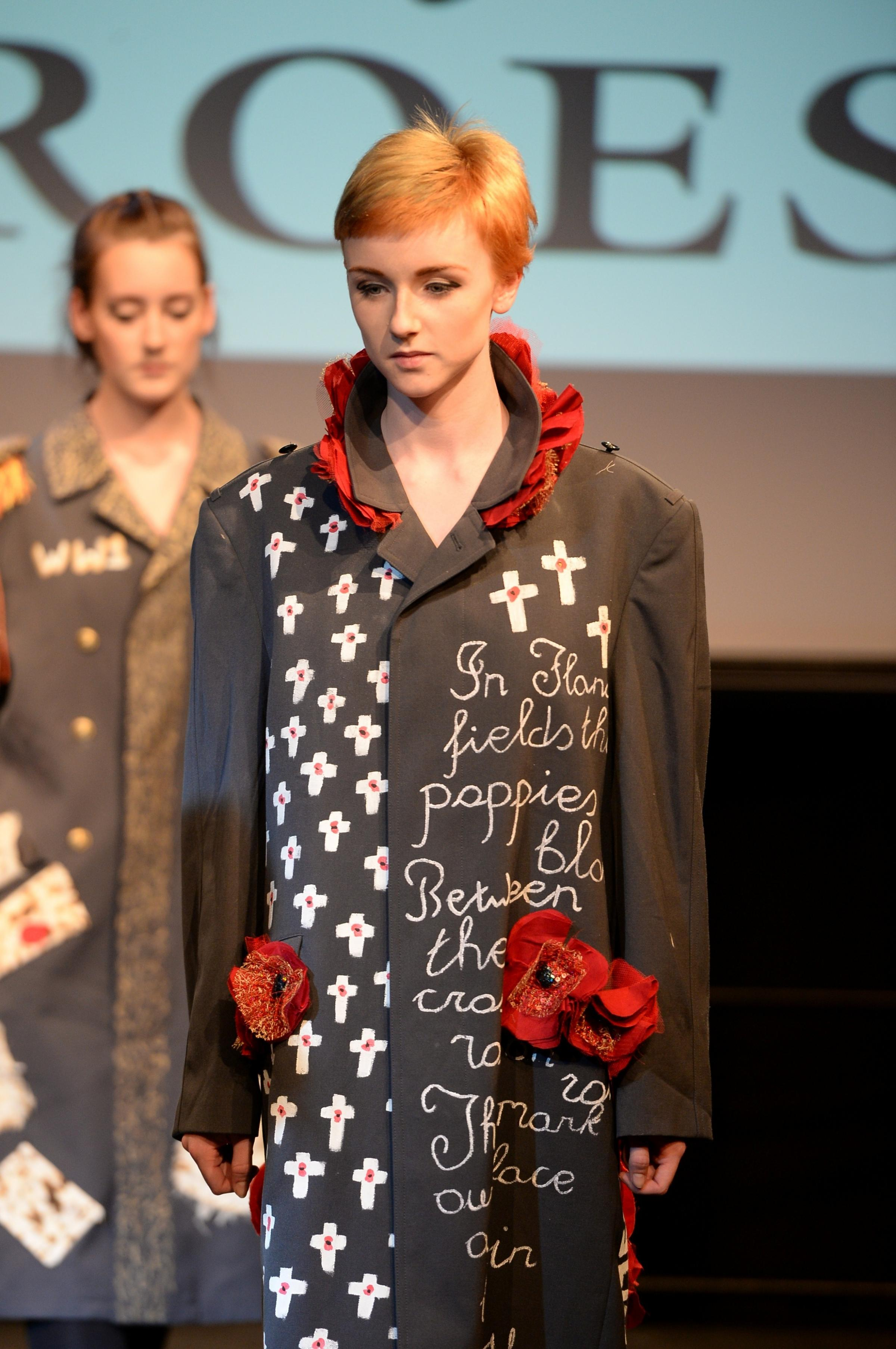 Gwent students' catwalk creations go on show